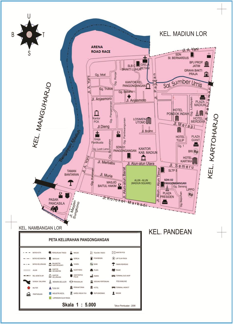 Peta Kelurahan