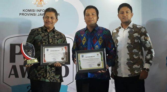 PPID Pembantu kelurahan pangongangan menyabet kategori terbuka