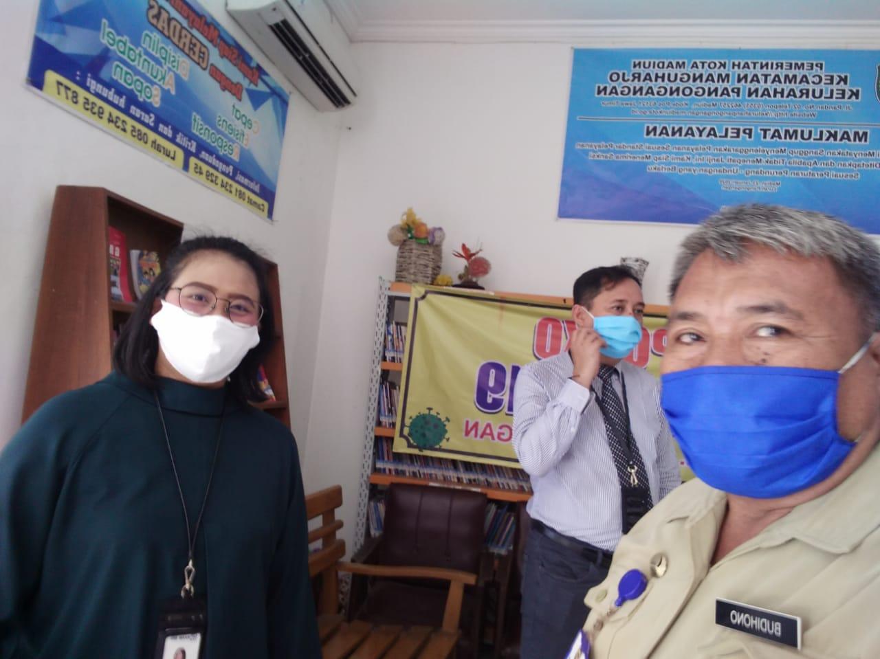 Masker Dan APD Untuk Pangongangan