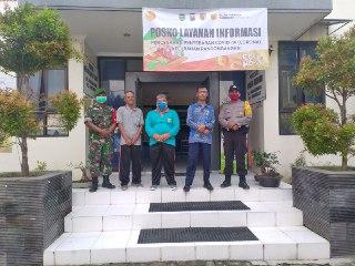 Pengadaan Posko Covid-19 di Kelurahan Pangongangan