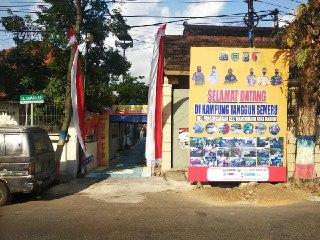 Penilaian Kampung Tangguh Semeru ( KTS ) Kelurahan Pangongangan