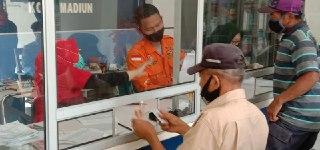 Pencairan Dana Bantuan Jaring Pengaman Sosial ( JPS ) Tahap II Provinsi