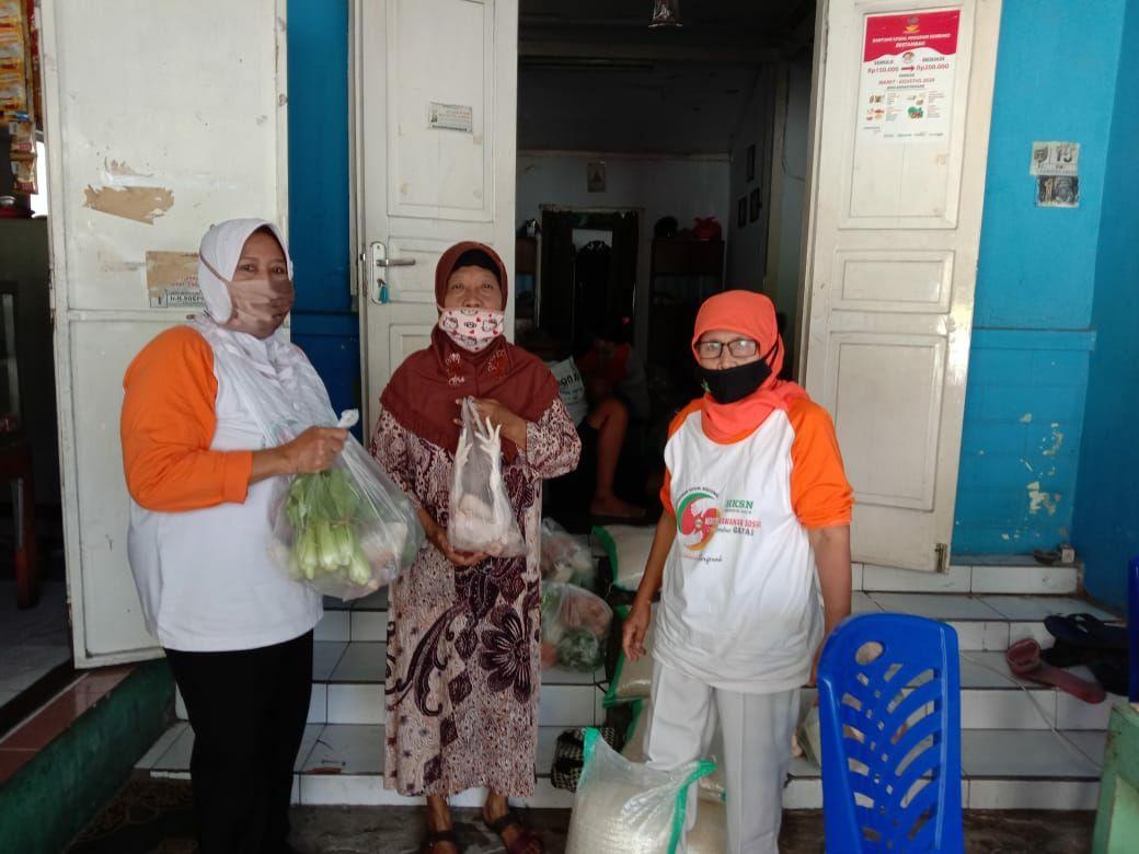 Penyaluran Bantuan Pangan Non Tunai ( BPNT ) Pusat