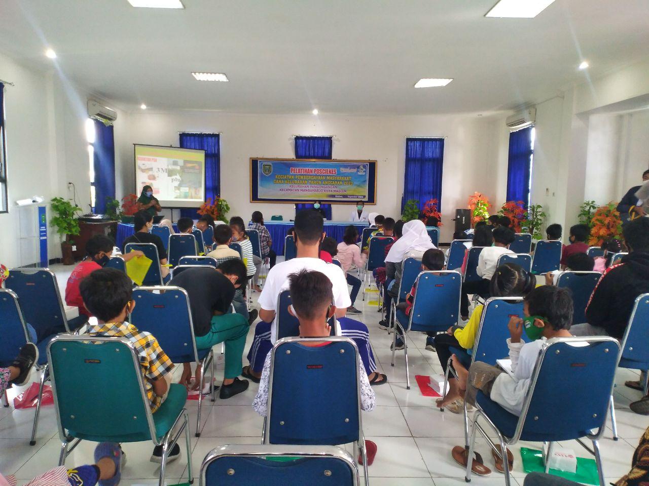 Kelurahan Pangongangan Adakan Literasi Kesehatan Pelatihan Polcilkes