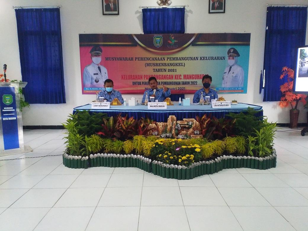 Pertemuan Musyawarah Perencanaan Pembangunan Kelurahan                 ( Musrenbangkel ) Tahun 2021